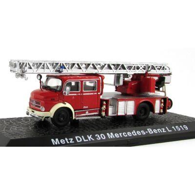 Tűzoltó - Metz DLK 30 Mercedes-Benz L 1519 Modellautó