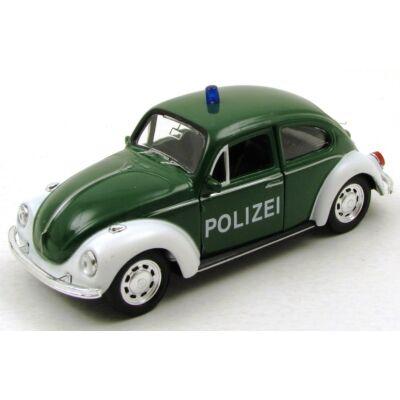 Volkswagen Beetle Polizei fémautó
