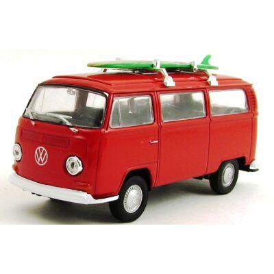 Volkswagen T2 Busz Deszkás Modellautó
