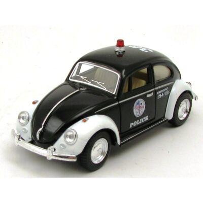 VW Classic Bogár 1967 Police autómodell