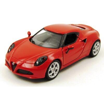 Alfa Romeo 4C 1:24 fémautó