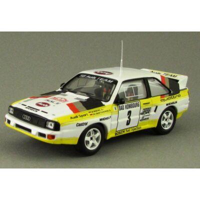Audi Sport Quattro Rallye Monte Carlo 1985 Modellautó