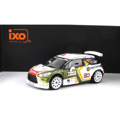 Citroen DS3 R5 Rally 1:43 Autómodell