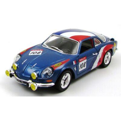 Renault Alpine A110 1600S Rally 1:24 fémautó