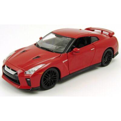 Nissan GT-R 2017 1:24 fémautó