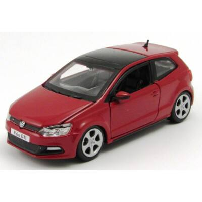 VW Polo GTI Mark 5 1:24 fémautó