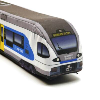 Plüss Stadler FLIRT villamos motorvonat Kék