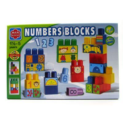 Építőjáték Maxi - számok 1
