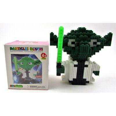 Kreatív mini építőjáték – Yoda