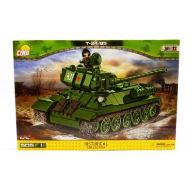 Cobi Építőjáték - T-34/85 Tank (2476)