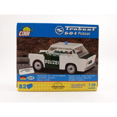 Cobi Építőjáték -Trabant 601 Polizei Építő