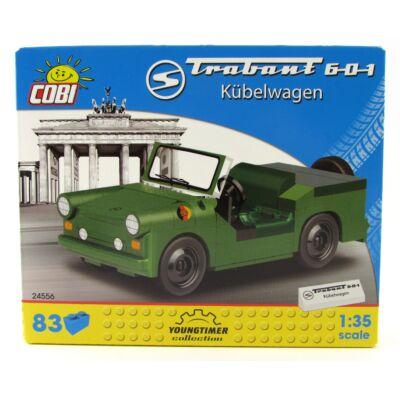 Cobi Építőjáték - Trabant 601 Zöld
