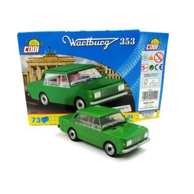 Cobi Építőjáték -Wartburg 353 Építő