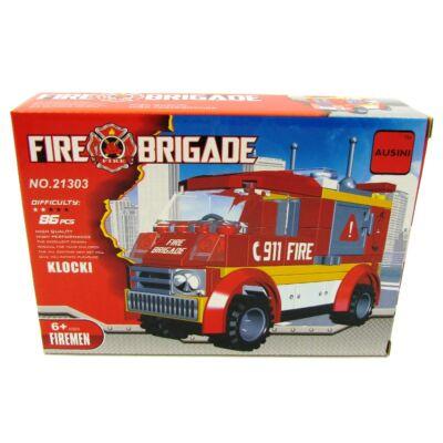 Tűzoltóautó építőjáték N.o. 21303