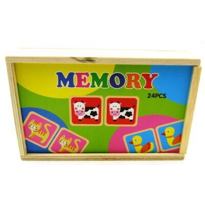 Dobozos memóriajáték-farm 1