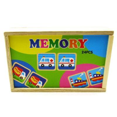 Dobozos memóriajáték-járművek 1