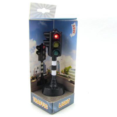 Közlekedési jelzőlámpa fény és hang effekttel 1