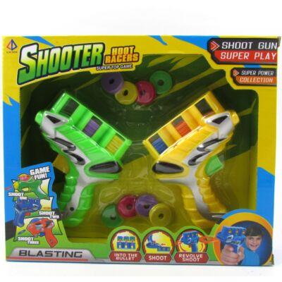 SHOOTER korongkilövő pisztolypár 1