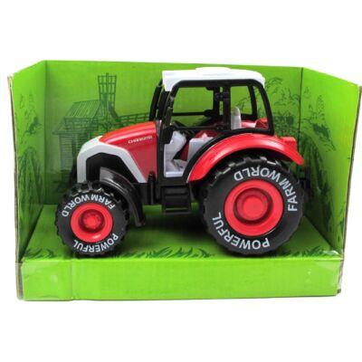 Traktor – piros
