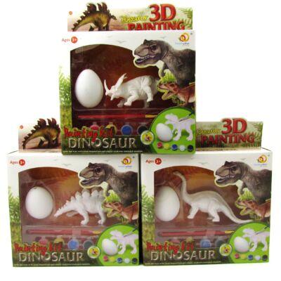 3D Festhető dinoszaurusz készlet