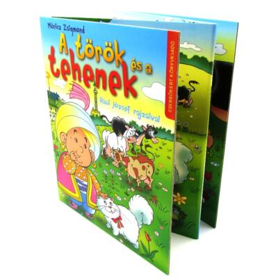 A török és a tehenek - harmonikakönyv 1