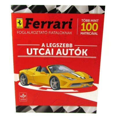 Ferrari utcai autók matricával 2