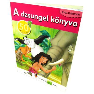 Klasszikusok: A dzsungel könyve 50 matricával 1
