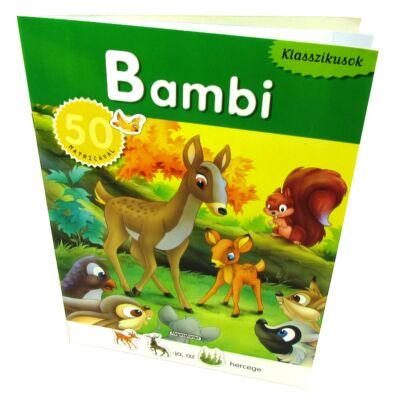 Klasszikusok: Bambi 50 matricával 1