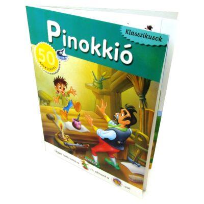Klasszikusok: Pinokkió 50 matricával 1