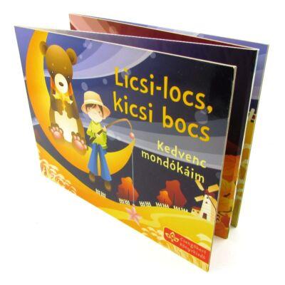 Licsi-locs, kicsi bocs - harmonikakönyv 1