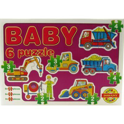 Baby 6 puzzle - építkezés 1