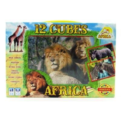 Mesekocka 12 db-Afrika 1