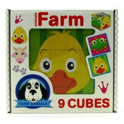 Mesekocka 9 db-farm 1