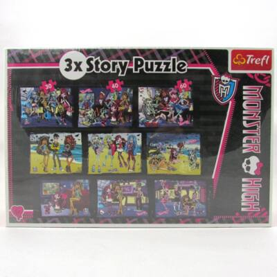 Monster High 9 képes puzzle-360 db