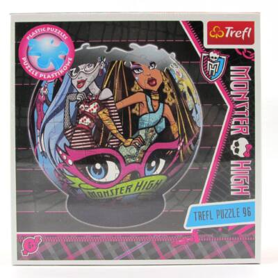 Monster High Cleo és Ghoulia gömb puzzle