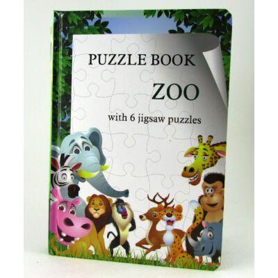 Puzzle Könyv Állatos Játék 2
