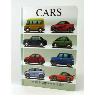 Puzzle Könyv Autós Játék 1