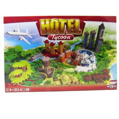 Hotel társasjáték 28 épülettel