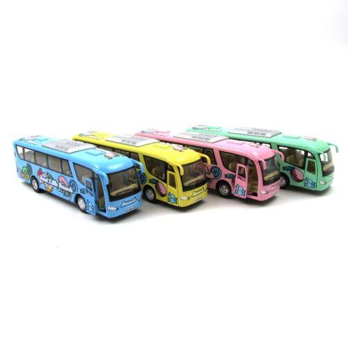 Panoráma busz desszert mintával fémautó 1