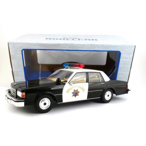 Chevrolet Caprice California Police 1:18 Modellautó