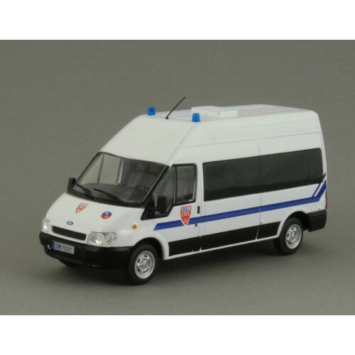Ford Transit CRS Police 1:43 Modellautó