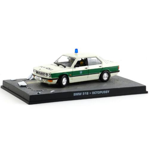 BMW 518 James Bond 1:43 Modellautó
