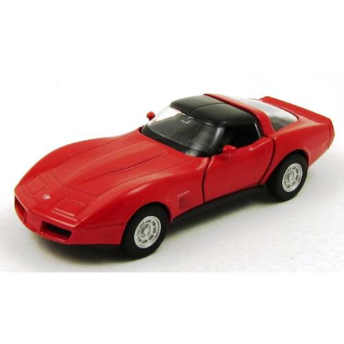 Chevrolet Corvette Coupe 1982 fémautó