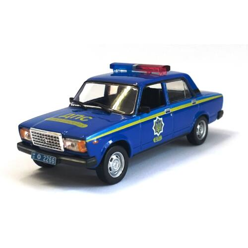 Lada 2107 Rendőr 1:43 Modellautó