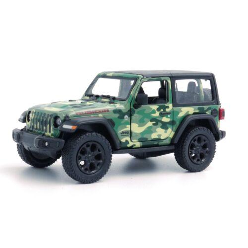 Jeep Wrangler 2018 Katonai Modellautó