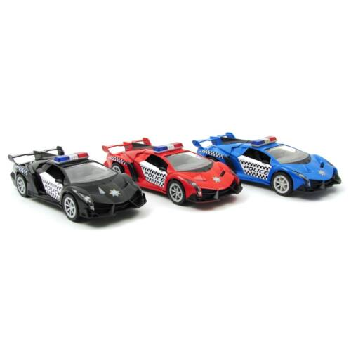 Lamborghini Veneno Rendőrautó autómodell