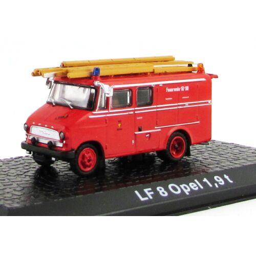 Tűzoltó - LF 8 Opel 1,9T Modellautó